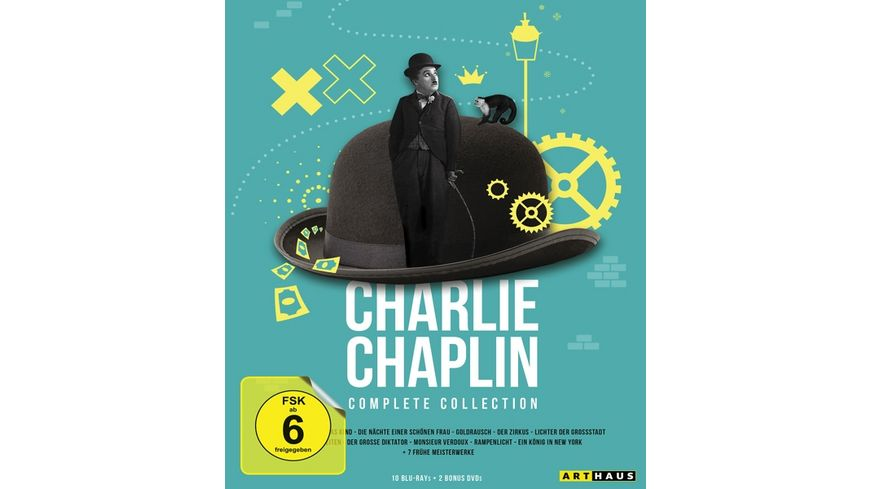 Charlie Chaplin / Complete Collection  [12 BRs]