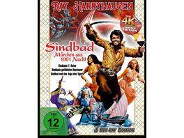 Ray Harryhausen Sindbad Maerchen aus 1001 Nacht 3 Blu rays