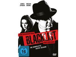 The Blacklist Die komplette achte Season 6 DVDs