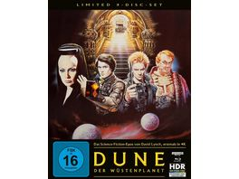 Dune Der Wuestenplanet Mediabook Cover B 4K Ultra HD Blu ray 2D Bonus Blu ray