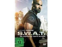 S W A T Die komplette vierte Season 6 DVDs