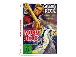 Moby Dick 3 Disc Limited Collector s Edition im Mediabook Bonus Blu ray DVD