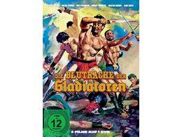 Die Blutrache der Gladiatoren 2 Filme auf 1 DVD