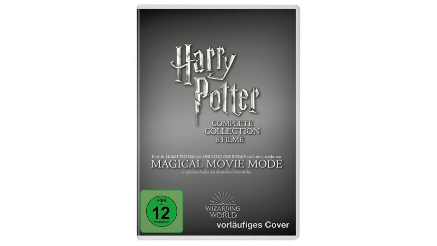 Harry Potter: The Complete Collection - Jubiläums-Edition - Magical Movie Mode  [9 DVDs]