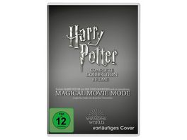 Harry Potter The Complete Collection Jubilaeums Edition Magical Movie Mode 9 DVDs