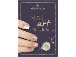 essence NAIL art effect foils 01 Golden Galaxy