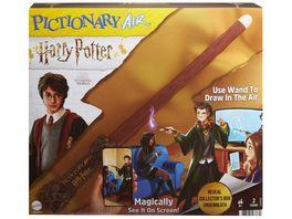 Mattel Games Pictionary Air Harry Potter Familienspiel Zeichenspiel