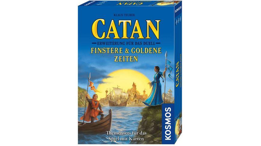 KOSMOS - Catan - Erweiterung für das Duell - Finstere & Goldene Zeiten