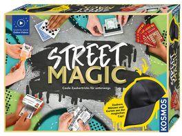 KOSMOS Street Magic Coole Zaubertricks fuer unterwegs Experimentierkasten