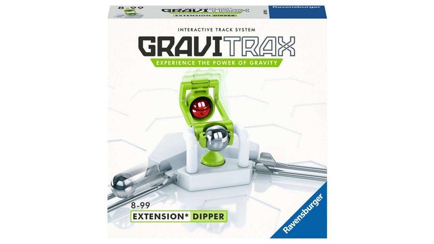 Ravensburger Beschäftigung - GraviTrax Kugelbahn - Erweiterung Action-Stein Dipper 26179, für Kinder ab 8 Jahren und Erwachsene