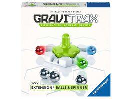 Ravensburger Beschaeftigung GraviTrax Kugelbahn Erweiterung Balls und Spinner 26979 fuer Kinder ab 8 Jahren und Erwachsene