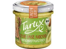 Tartex Linsen Liebe Gelbe Linse Avocado
