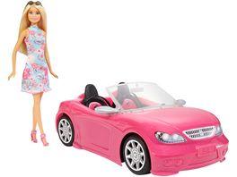 Barbie Glam Cabrio und Puppe