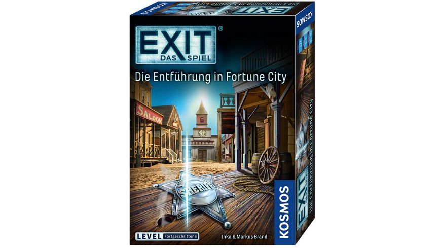 KOSMOS - EXIT - Das Spiel: Die Entführung in Fortune City, Level: Fortgeschrittene