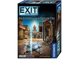 KOSMOS EXIT Das Spiel Die Entfuehrung in Fortune City Level Fortgeschrittene