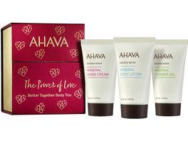 AHAVA Kit Better Together Body Trio