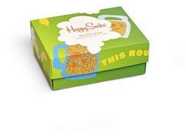 Happy Socks Herren Socken 2er Pack Giftbox Beer