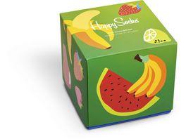 Happy Socks Unisex Socken Giftbox Fruit 4er Pack