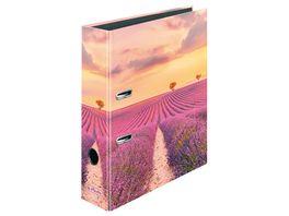 herlitz Motivordner maX file A4 8cm Lavendel