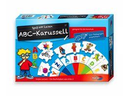Noris Spiele ABC Karussell Lernspiel