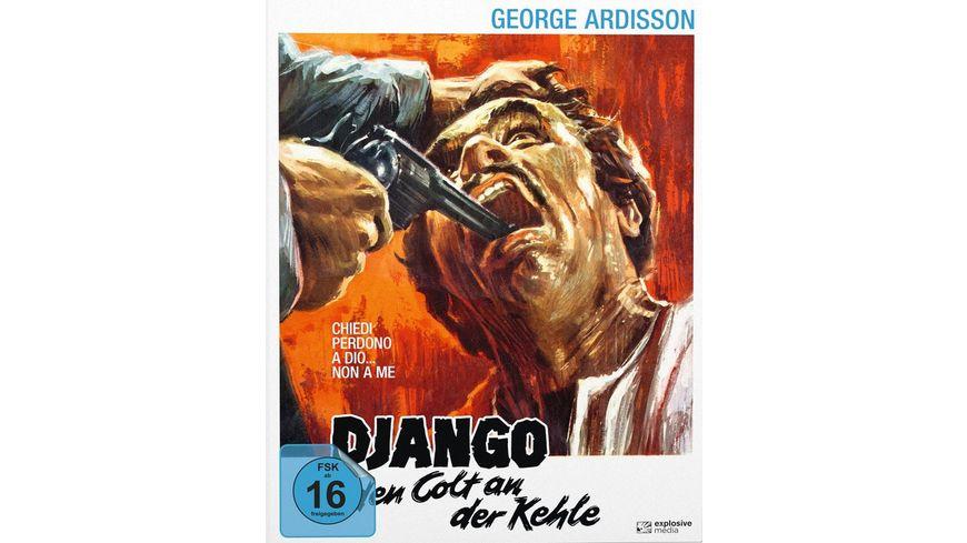 Django - Den Colt an der Kehle - Mediabook - Cover B  (+ DVD)