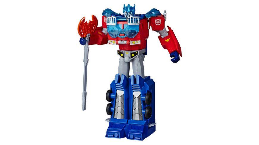 Hasbro - Transformers Spielzeuge Cyberverse Ultimate-Klasse Optimus Prime