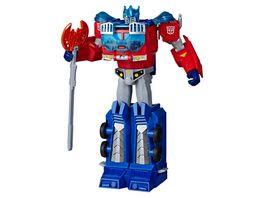 Hasbro Transformers Spielzeuge Cyberverse Ultimate Klasse Optimus Prime