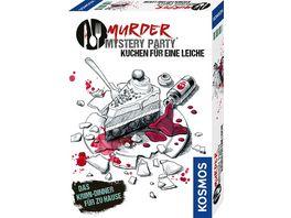 KOSMOS Murder Mystery Party Kuchen fuer eine Leiche Das Krimi DInner fuer zuhause