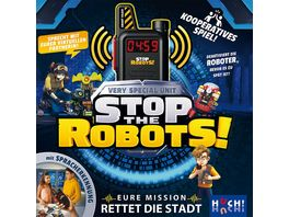 Huch Verlag Stop the Robots Very Special Unit