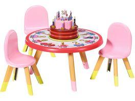 Zapf Creation BABY born Happy Birthday Partytisch