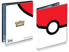 UltraPro Pokemon Pokeball 4 Pocket Portfolio