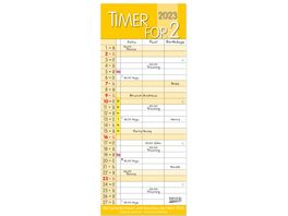 Timer for 2 Safran 2022 19x47cm