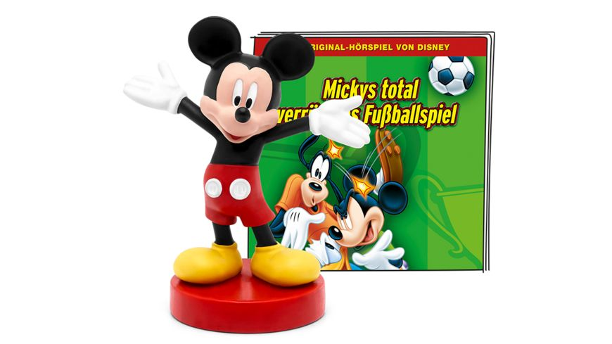 tonies - Hörfigur für die Toniebox: Disney: Mickys total verrücktes Fußballspiel