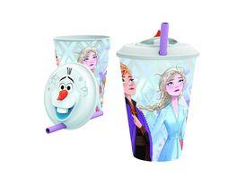 p os Handel Frozen 3D Trinkbecher