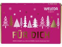 WELEDA Geschenkset Love Wildrose und Mandel