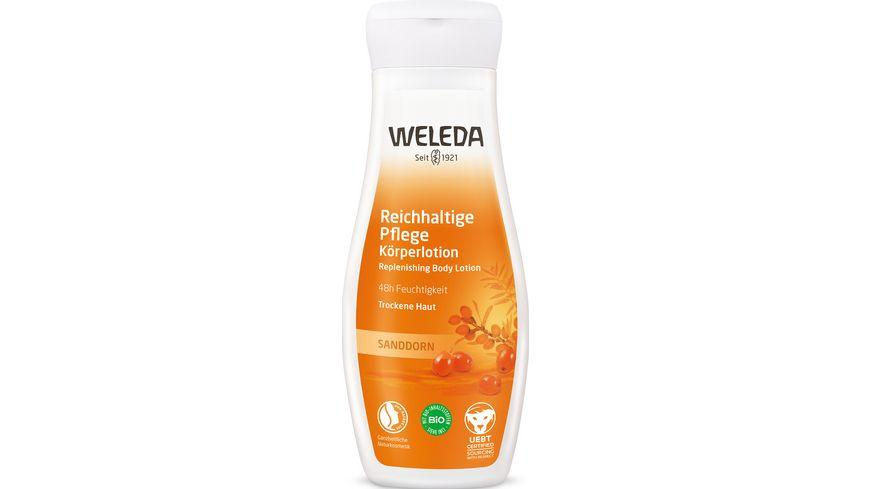 WELEDA Sanddorn Reichhaltige Pflege Körperlotion
