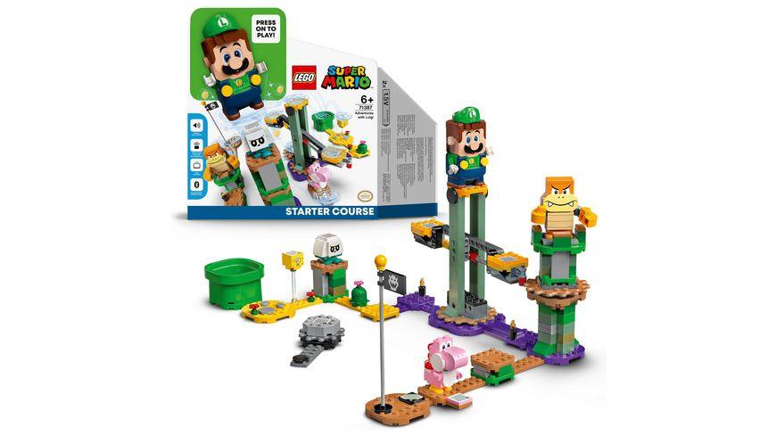 LEGO 71387 Super Mario Abenteuer mit Luigi – Starterset, Spielzeug