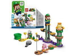 LEGO 71387 Super Mario Abenteuer mit Luigi Starterset Spielzeug
