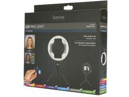 Hama LED Ringleuchte SpotLight Smart 80 Set fuer Smartphone