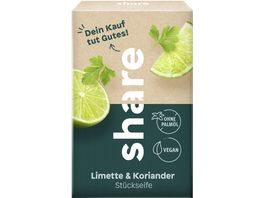 share Stueckseife Limette Koriander