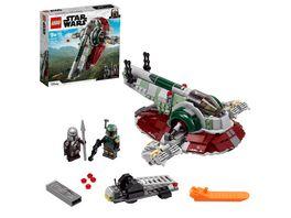 LEGO Star Wars 75312 Boba Fetts Starship Bauset Spielzeug Ab 9 Jahren