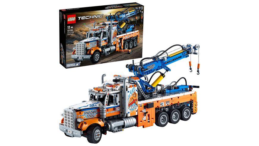 LEGO Technic 42128 Schwerlast-Abschleppwagen, Modellbauset, Geschenkidee