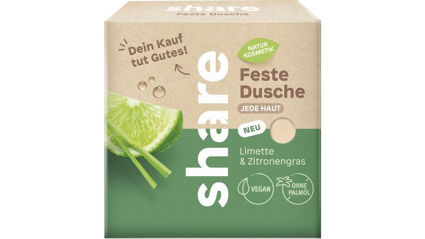 share Feste Dusche Limette & Zitronengras