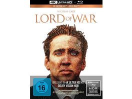 Lord of War Haendler des Todes 2 Disc Limited Collector s Edition im Mediabook 4K Ultra HD Blu ray 2D
