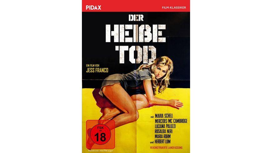 Der heiße Tod / Kult-Abenteuerfilm von Jess Franco mit Starbesetzung (Pidax Film-Klassiker)