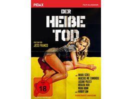 Der heisse Tod Kult Abenteuerfilm von Jess Franco mit Starbesetzung Pidax Film Klassiker