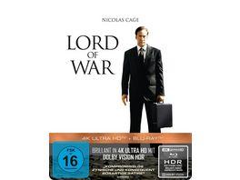 Lord of War Haendler des Todes 2 Disc Steelbook 4K Ultra HD Blu ray 2D