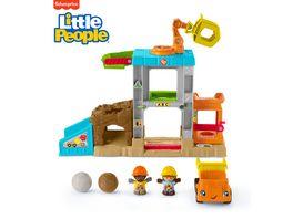 Fisher Price Little People Baustellen Spielzeug Set Kleinkind Spielzeug
