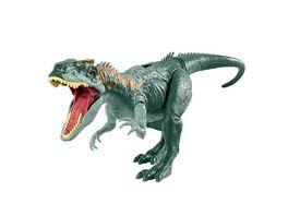Jurassic World Bruellattacke Allosaurus