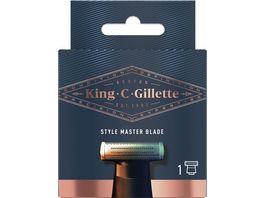 King C Gillette Barttrimmer King C Style Master Systemklinge